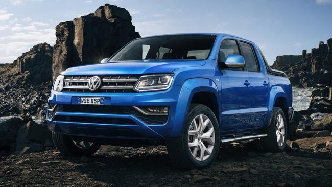 Volkswagen Amarok V6 is about to be overtaken as the most powerful ute in its class. Picture: Supplied