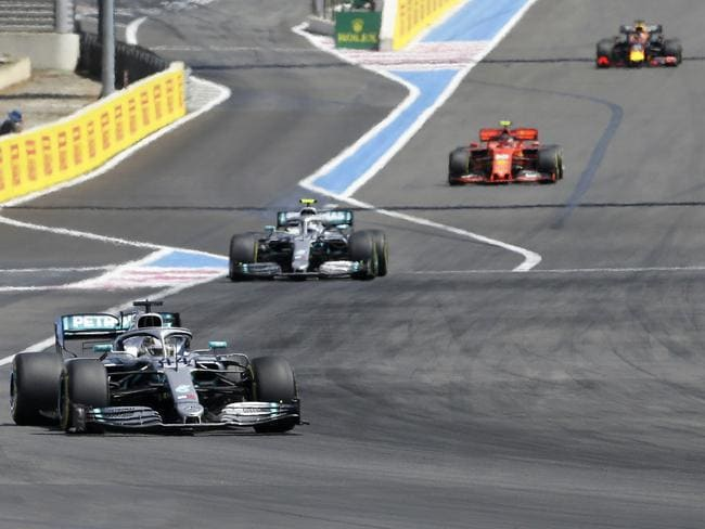 The gap between the field and Mercedes is staggering.