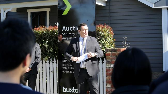 Auctioneer Jarrod Leonard of Buxton. Picture: Mike Dugdale