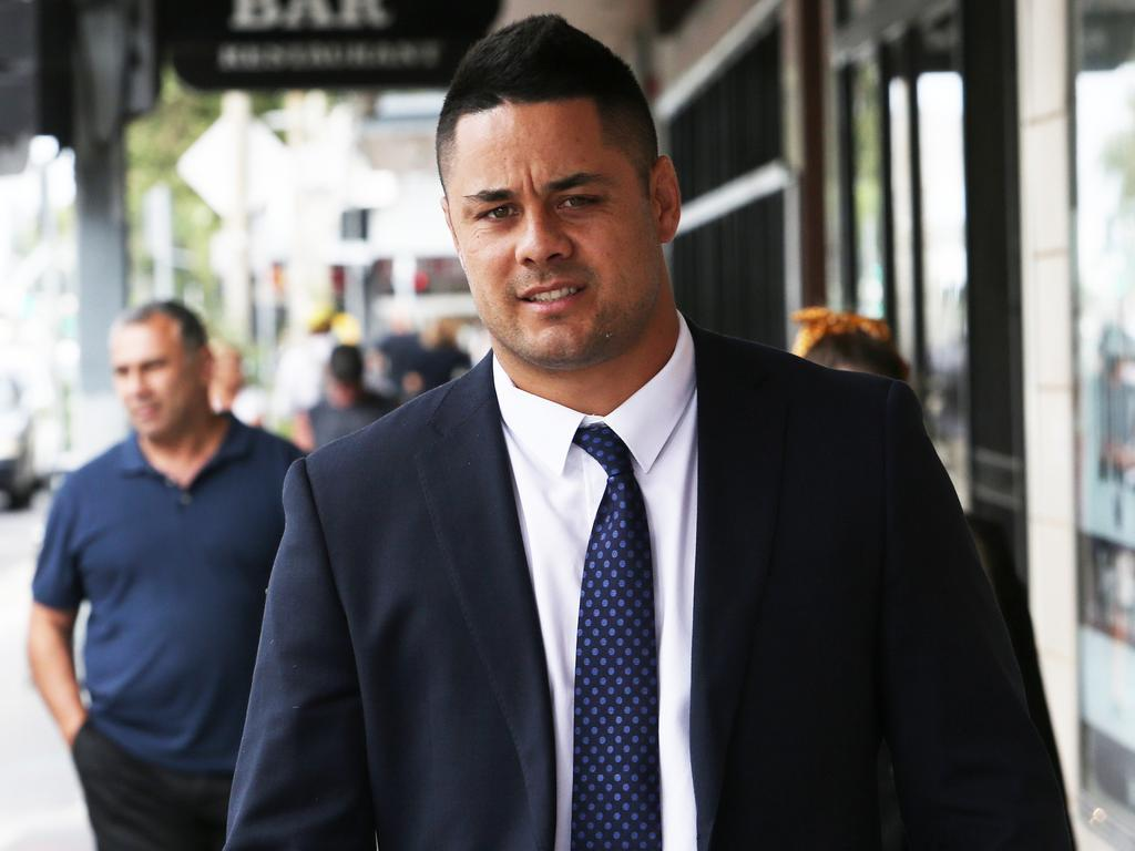 The rugby league star strenuously denies the allegations of sexual assault. Picture NCA NewsWire / Peter Lorimer