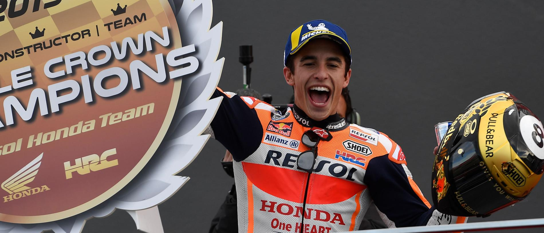 Marc Marquez will stay at Honda until 2024.
