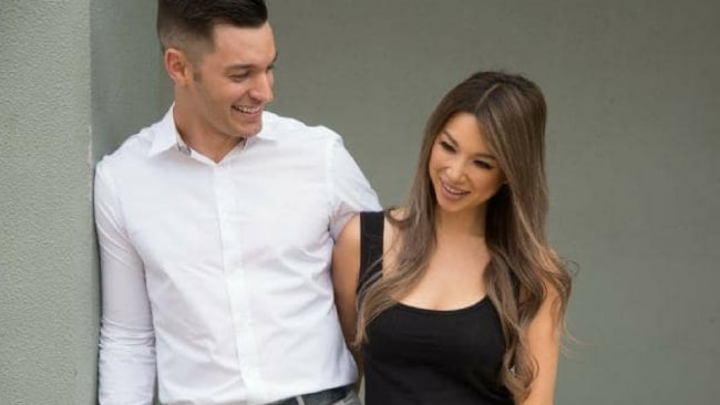 Catherine Wong and her husband Alex Baro. Photo: Supplied