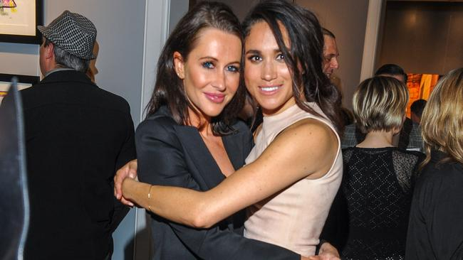Jessica and Meghan are best friends. Picture: George Pimentel/WireImage
