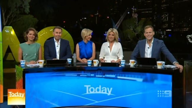 Today Show: New team make their debut (Channel 9)