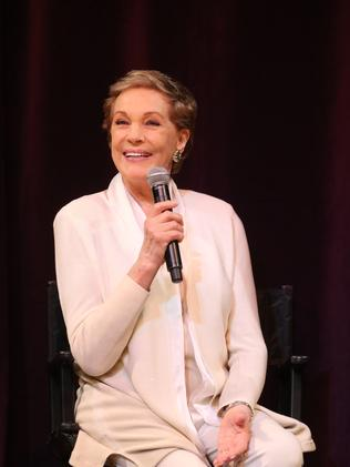 My Fair Lady's Julie Andrews during a media call at QPAC. Picture: Peter Wallis