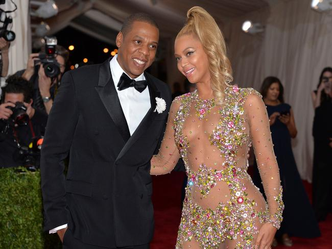 Jay Z and Bey.
