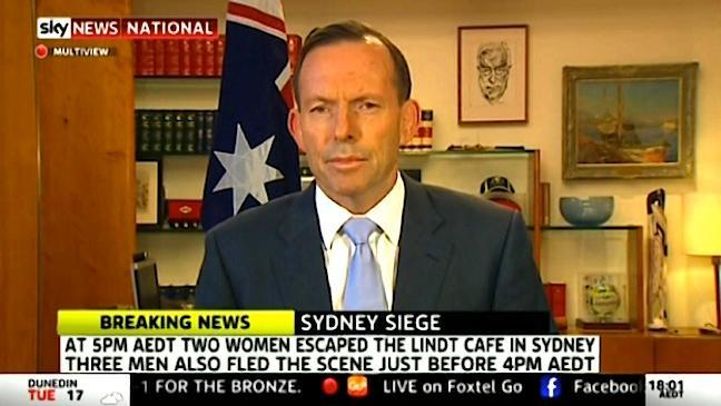 This has been a day that has tested us, says Abbott