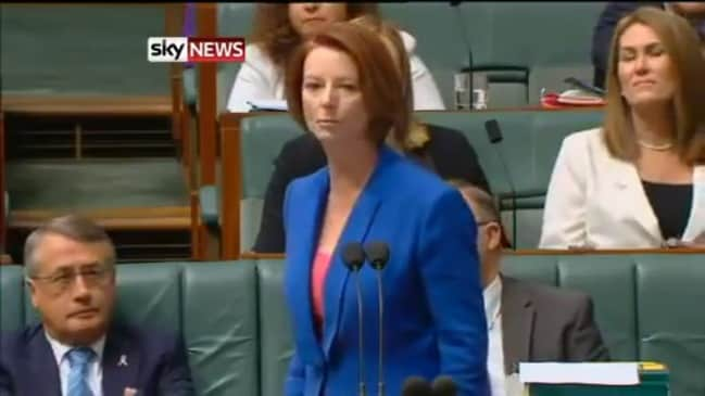 Julia Gillard accuses Tony Abbott of sexism