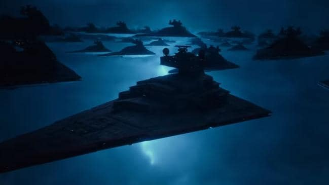 These are not First Order star destroyers.