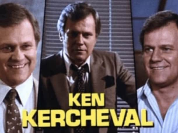 Ken Kercheval played Cliff Barnes in Dallas. Picture: Supplied