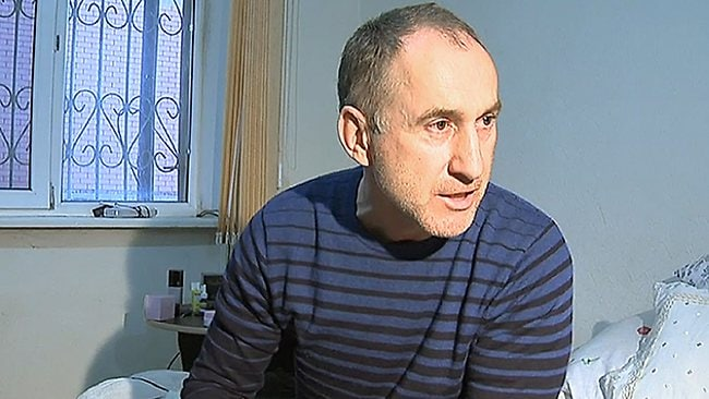 A frame grab from a video taken on April 19, 2013, shows Anzor Tsarnaev, the father of the suspected Boston bombers, brothers Tamerlan and Dzhokhar Tsarnayev, speaking with journalists at home Makhachkala, the capital Russia's North Caucasus region of Dagestan. Anzor Tsarnaev insisted in an interview published today that his sons Tamerlan and Dzhokhar were innocent and could not have carried out the bombings.AFP PHOTO / NEWS TEAM/ BASHIR ALIEV