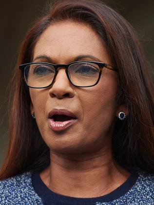 Lead claimant and financial entrepreneur Gina Miller. Picture: AFP PHOTO / Niklas HALLE'N