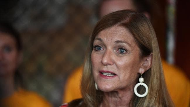 "Victorian Reason Party leader Fiona Patten said it was ""high time"" an alternative was found as the Lord's Prayer conflicts with the separation of church and state and fails to recognise Victoria's 153 religions. Picture: James Ross/AAP"