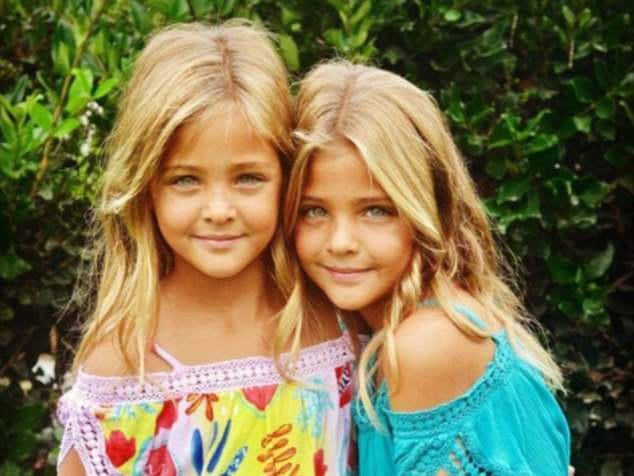 Ava Marie, Leah Rose Meet The Most Beautiful Twins In -1502