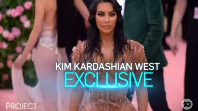 The Sunday Project's Kim Kardashian West exclusive.