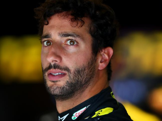 Ricciardo recovered from the early setback.