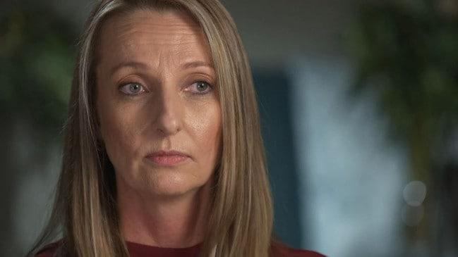 Karlie Peace-Stevenson's friend Tanya Webber. Picture: Channel 9 / 60 Minutes