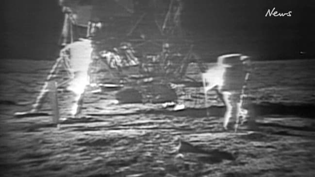 Rare footage of the Apollo 11 Mission