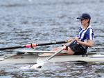 Junior Sculling Regatta at Lake Barrington. PICTURE CHRIS KIDD