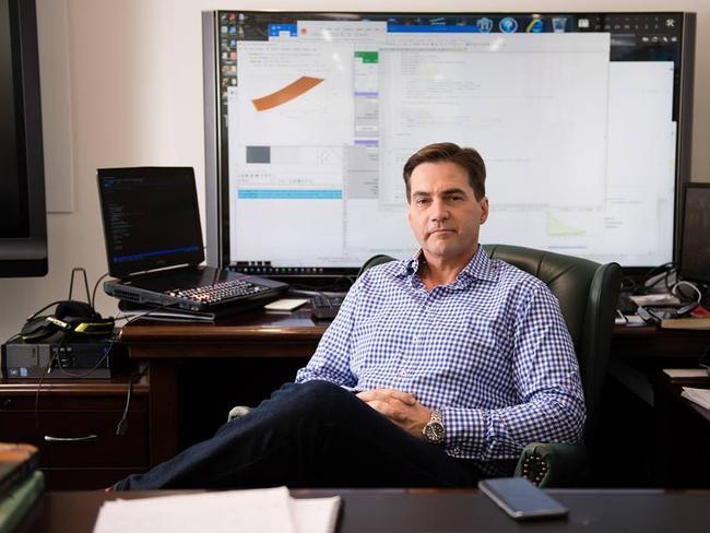 The Aussie connection ... Craig Wright claimed to be the inventor of virtual currency. Picture: Kristina Uffe