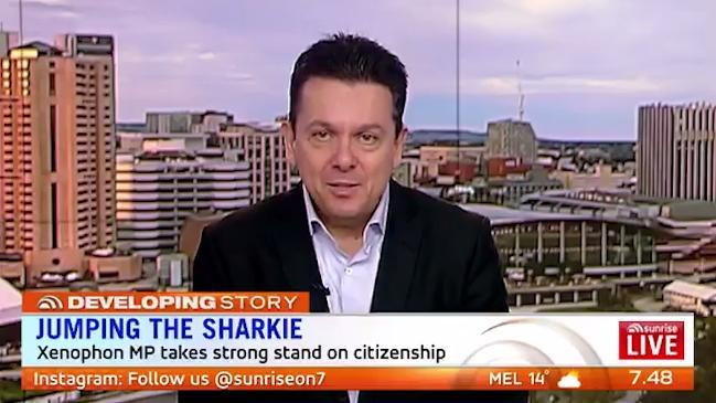 Xenophon: Dual citizen debacle making Parliament 'unworkable'