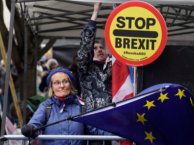 A Brexit deal could be. Picture: AFP