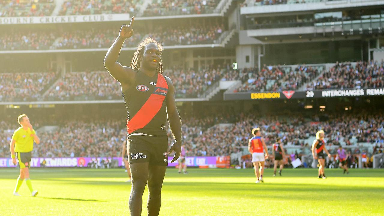 Anthony McDonald-Tipungwuti celebrates a goal. Photo: Quinn Rooney/Getty Images.