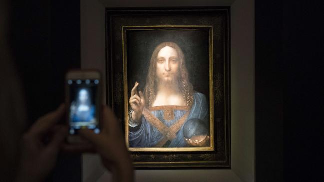 Da Vinci painting sells for AU$527 million