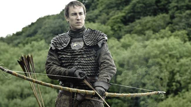 Tobias Menzies as Edmure Tully in Game of Thrones .. Ireland