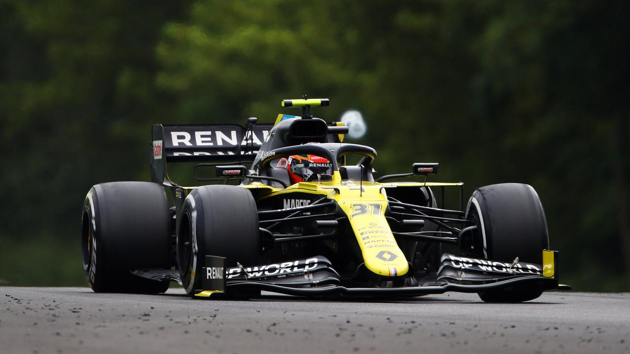 Renault has been consistent, but slightly off the pace.