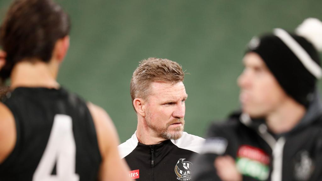 Nathan Buckley would have been concerned by the performance of his players.