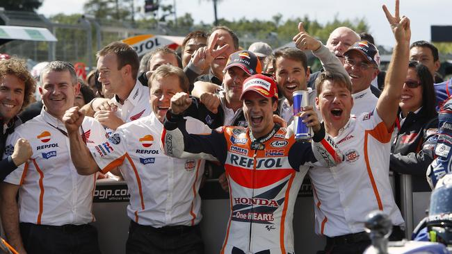 Pedrosa took his only win of the season so far at Brno.