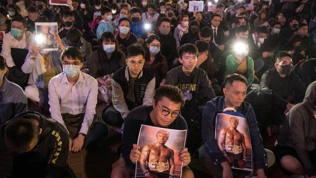 Hong Kong protesters praised the US and Donald Trump for signing bills granting them protection.