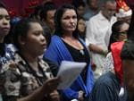 2009 - Schapelle Corby attends a Christmas service at Kerobokan Jail in Bali. Picture: Supplied