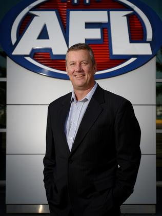 AFL football operations manager Mark Evans.