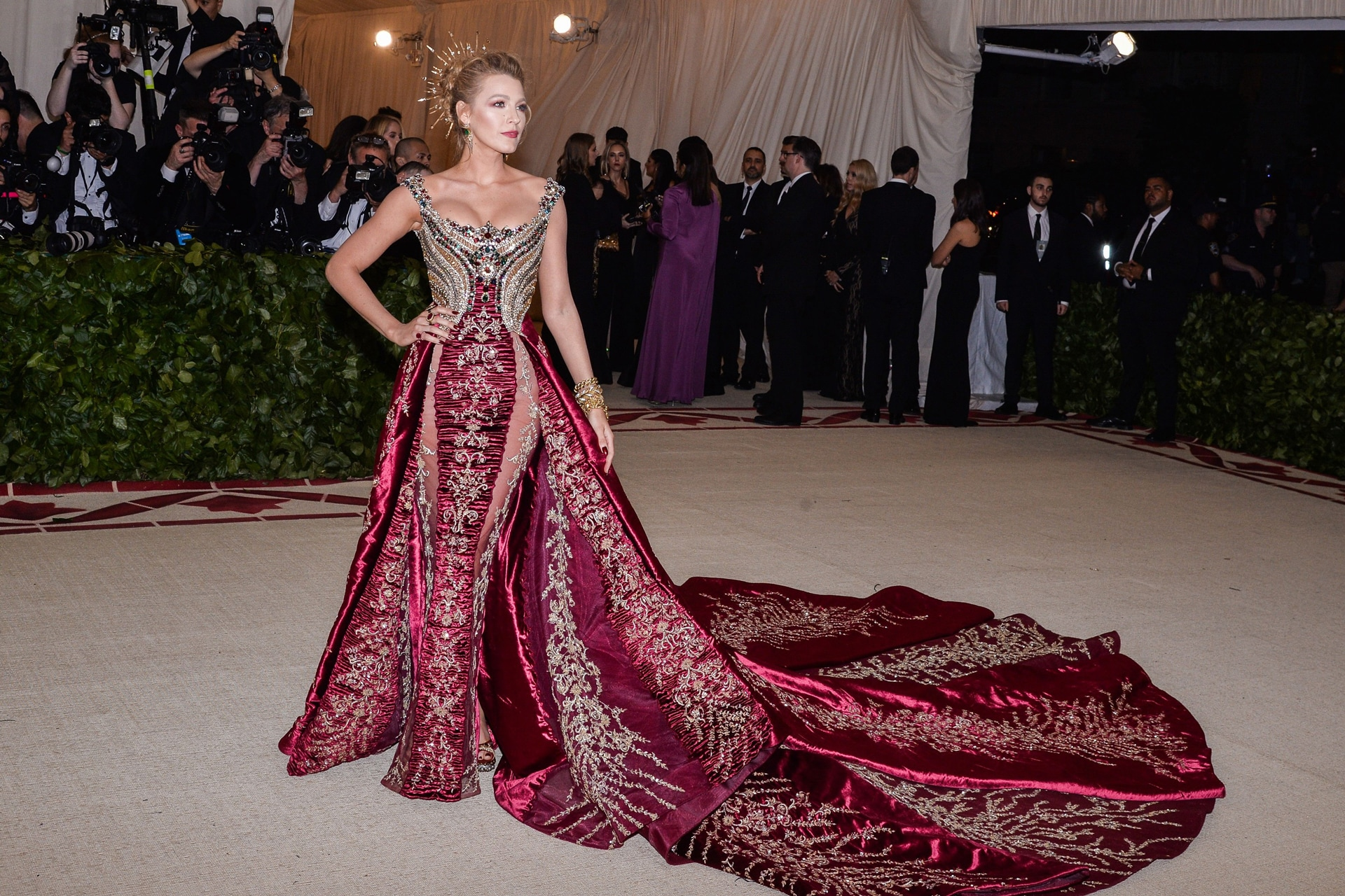 Image result for blake lively the met gala