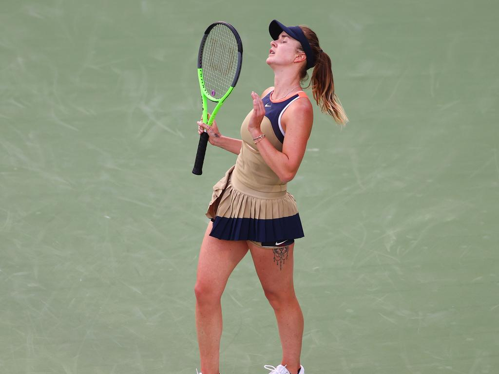 Svitolina has been struggling on the court.