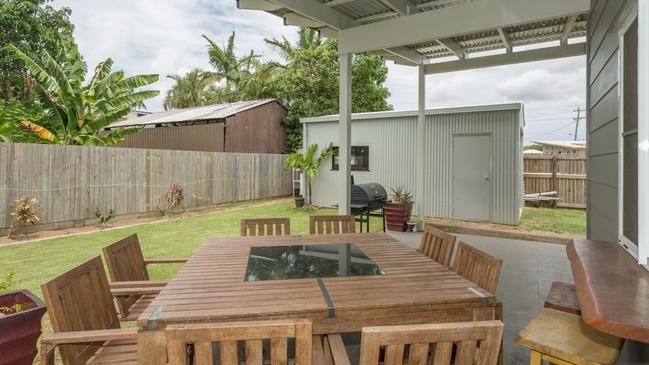 This house at 8 Jennifer Court, Bucasia, Mackay, is for sale.