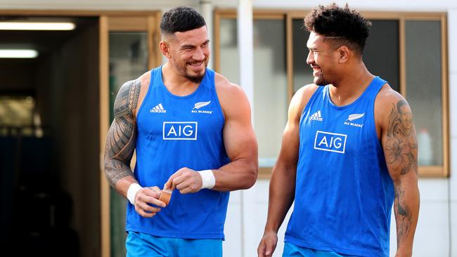Ardie Savea has been inspired by Sonny Bill Williams' career path through the NRL.