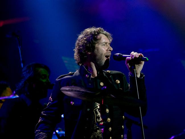 Howard Donald handles lead vocals on Never Forget. Picture by Adrian Thomson