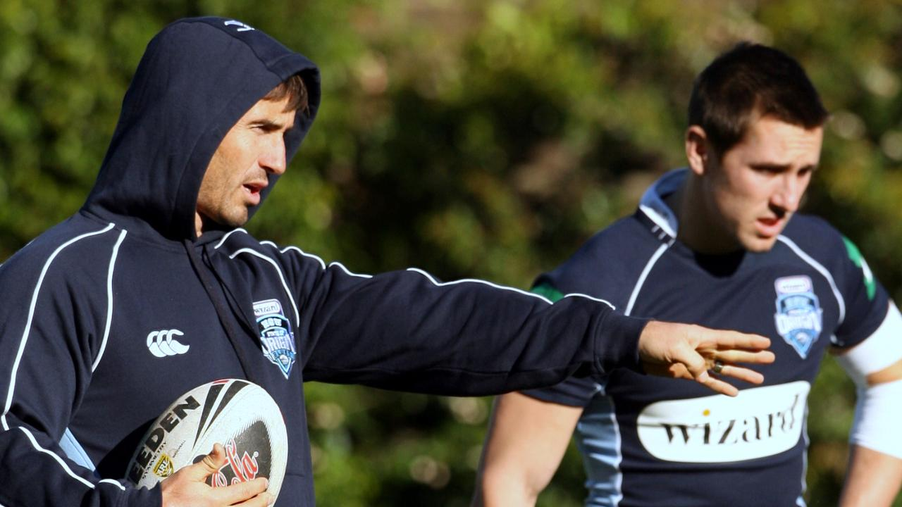 Andrew Johns has been a big supporter of Mitchell Pearce for a long time.