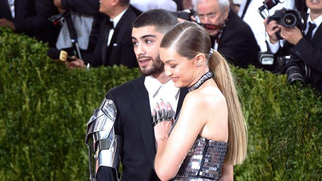 Zayn Malik, with on-off girlfriend Gigi Hadid, has been open about his struggles.
