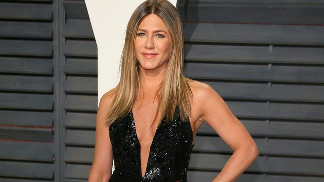 Aniston is regularly asked about a reboot. Picture: Jean-Baptiste Lacroix/AFP