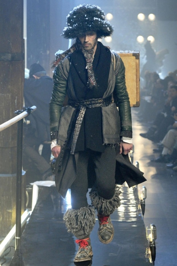 John Galliano Menswear Autumn/Winter 2011/12