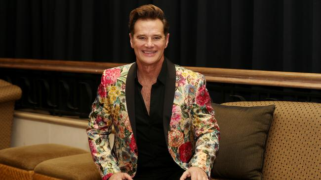 Renowned Hollywood entertainment correspondent Richard Reid Picture: Stewart McLean