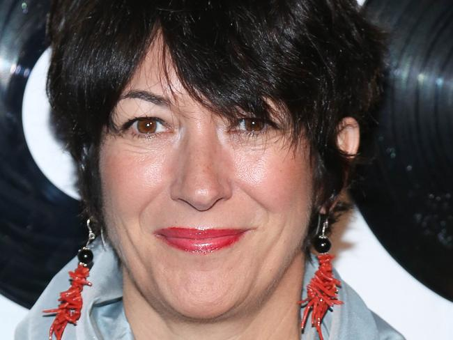 "Ghislaine Maxwell, who allegedly acted as a ""madame"" for Epstein and procured young girls to please him. Picture: AFP"