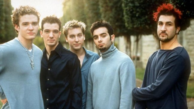 Pearlman encouraged *NSYNC and Backstreet Boys to compete against one another. Picture: Supplied