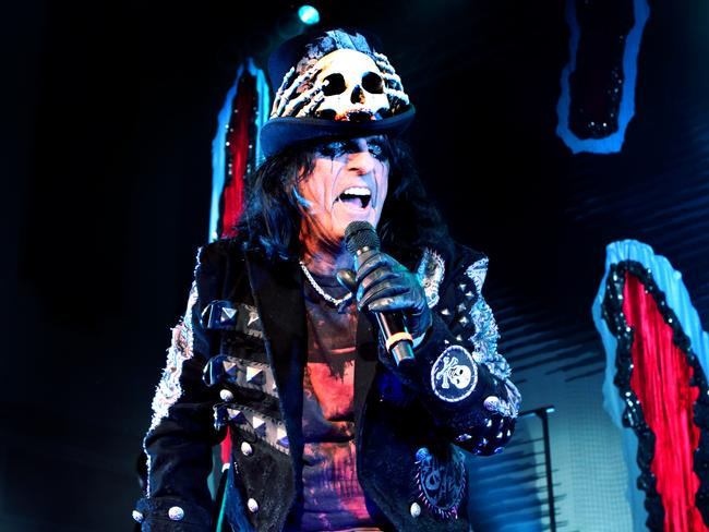Alice Cooper is still going strong and will tour Australia later this year for the 13th time.