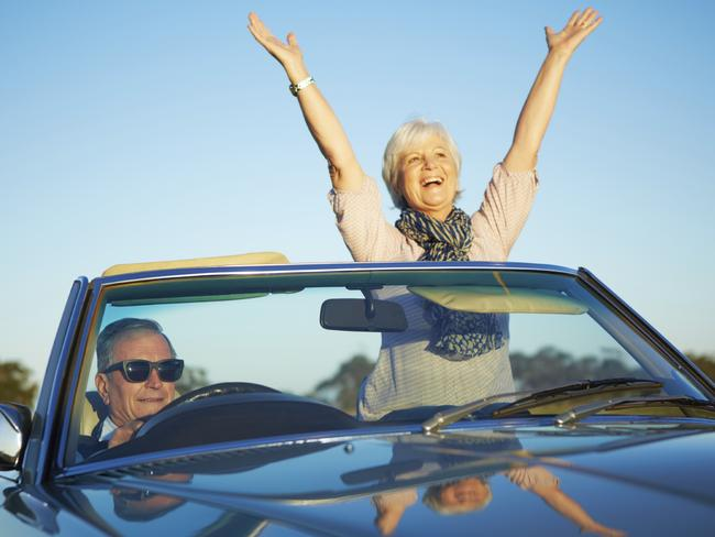 Australians aged in their 70s are living it up, but it could cause conflict.