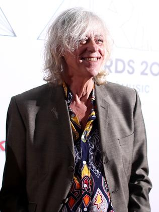 After a 16-year absence, Sir Bob Geldof returned to the ARIA Awards. Picture: Getty